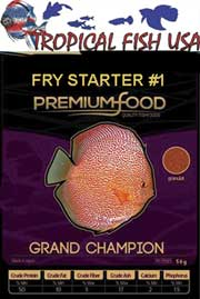 Grand Champion Fry Starter #1 50grams